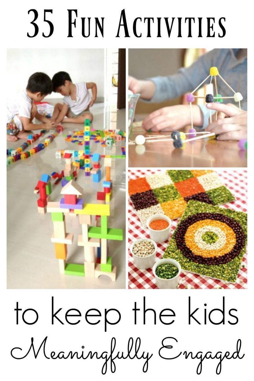 35 fun activities for kids