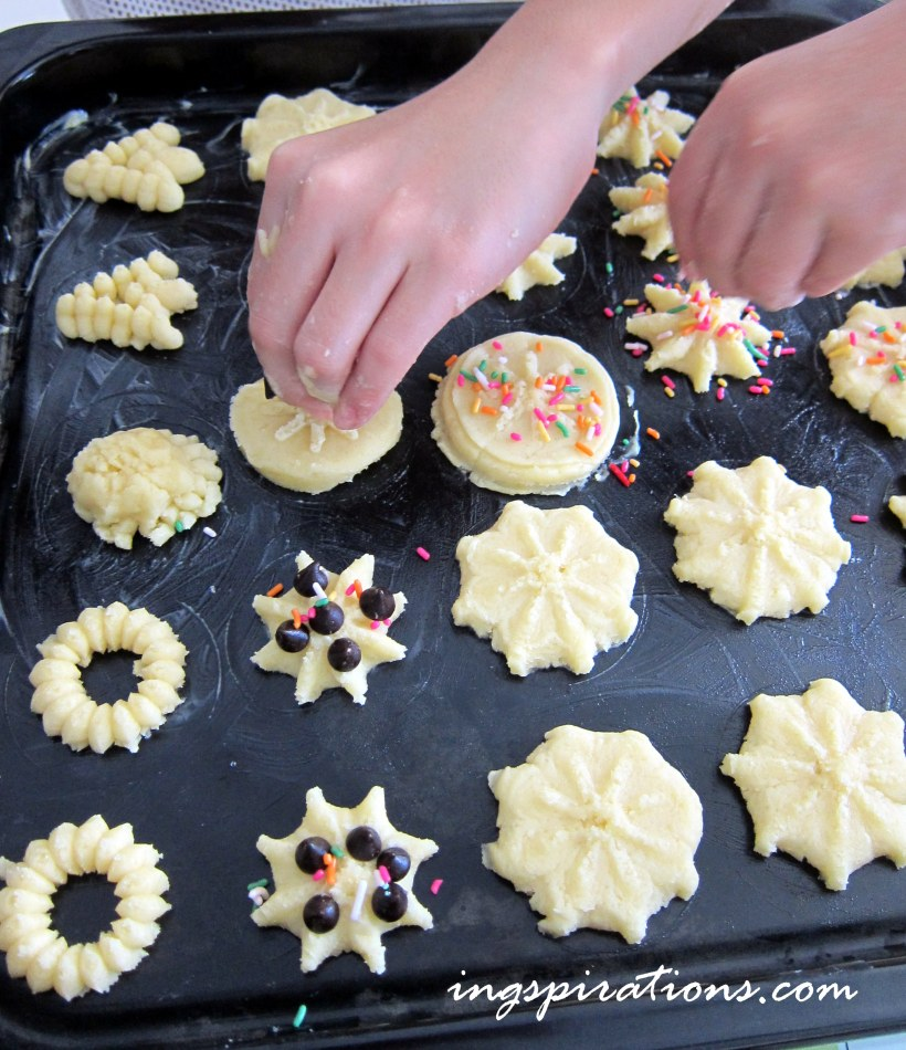 cookies baking with kids
