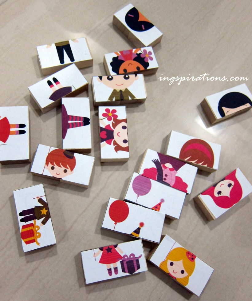 DIY melissa and doug wooden puzzles