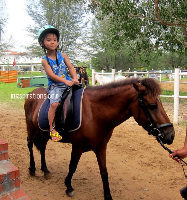 pony riding for kids