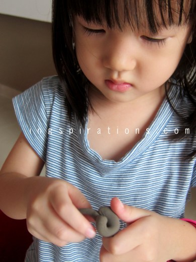 DIY clay for kids