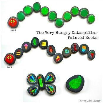 hungry caterpillar eric carle art