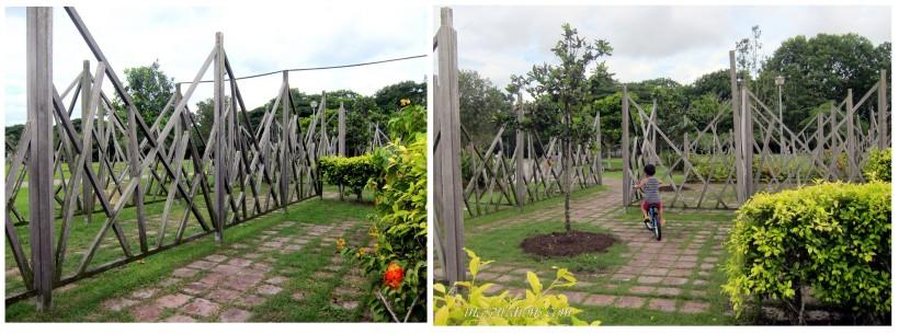 pasir ris beach maze garden