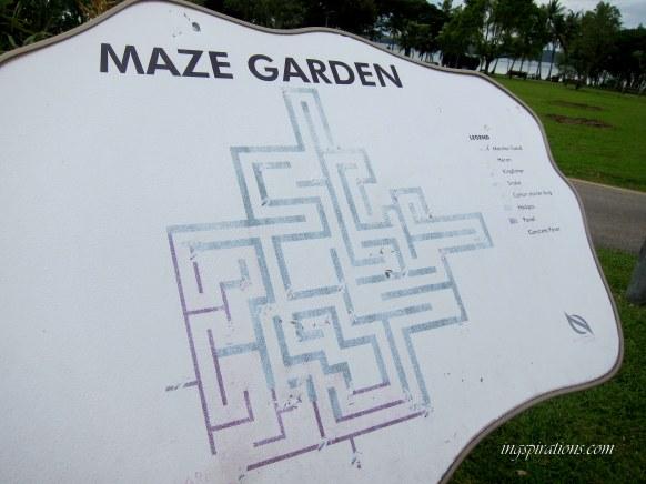pasir ris park maze garden