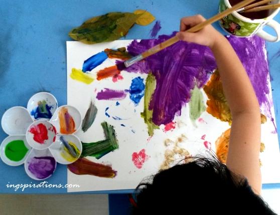 preschooler, activities, painting, kids