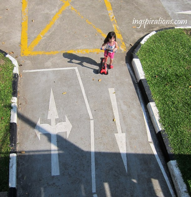road safety park traffic rules kids