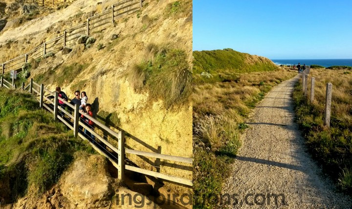 Gibson Steps Great Ocean Road with kids
