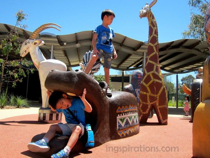 werribee open range zoo with kids