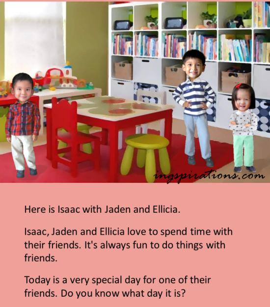 personalised ebook for kids