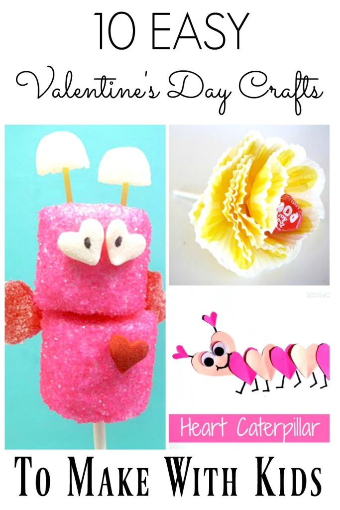 10 Easy Valentine's Day crafts to make with kids