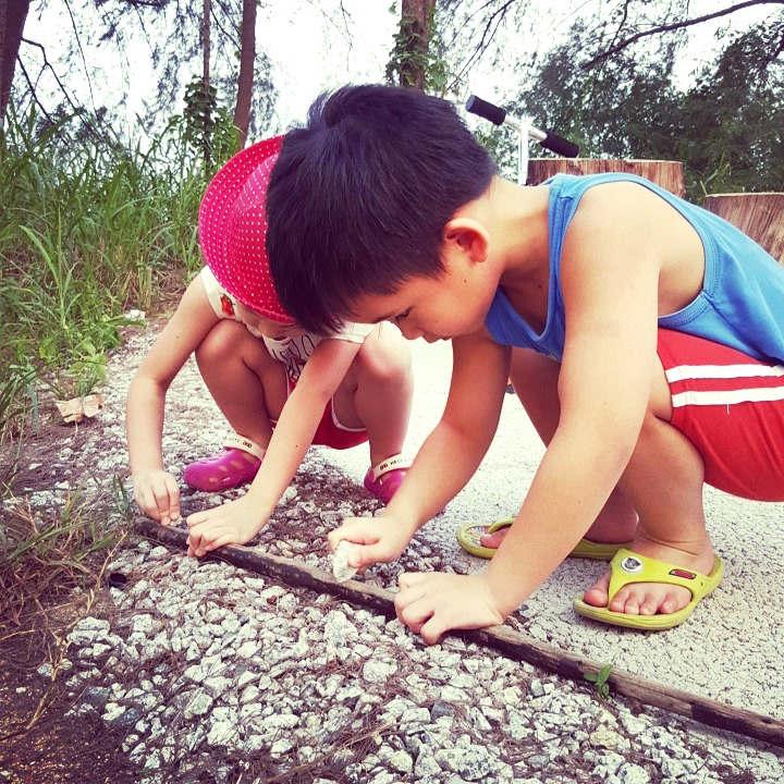 explore nature with kids